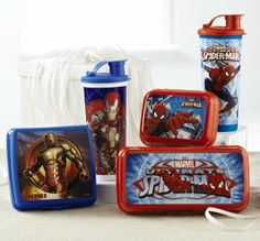 Tupperware | Ultimate Spider-Man & Iron Man 3 Lunch Set. Place your order with me or visit my website www.my.tupperware.com/serenanorthern