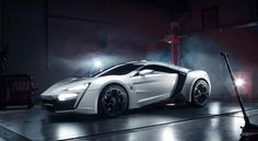 Diamonds are a car's best friend: Middle East's first supercar to cost 3.4 Million - Yahoo! Autos