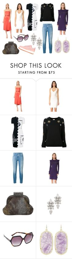 """""""Viewed Recently"""" by donna-wang1 ❤ liked on Polyvore featuring Halston Heritage, Hervé Léger, STELLA McCARTNEY, Zoe Karssen, Closed, Philosophy di Lorenzo Serafini, Chanel, Jenny Packham, Kendall + Kylie and Kendra Scott"""