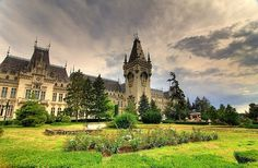 Romania Iasi palace of culture romanians beautiful eastern european cities palaces Romanian Castles, Peles Castle, Famous Castles, Places To See, Beautiful Places, Mansions, City, World, Moldova