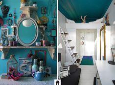 Azul na decoração, calma e tranquilidade nos seus ambientes