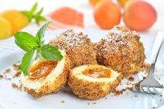 Recept u koji ćete se zaljubiti na prvi pogled! Neodoljive knedle sa kajsijama Ricotta, Avocado Toast, French Toast, Muffin, Meat, Breakfast, Recipes, Food, Favorite Things