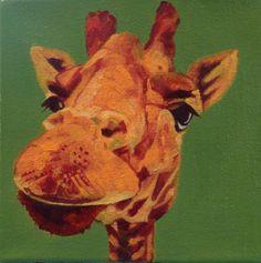 Whimsical Giraffe by Nancy Stark