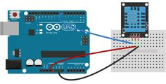 Arduino DHT11 Tutorial - 3 Pin DHT11 Wiring Diagram