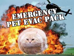 Picture of Emergency Pet Evacuation Pack
