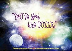 Live Law of Attraction Blog | Linda Armstrong, Energy Healer - Part 7