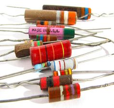 Different Types of Resistors and Its Color Code Calculation in Electronics  Different types of resistors are used to limit the current in electronic circuits as they are available in different ratings depending on the application.