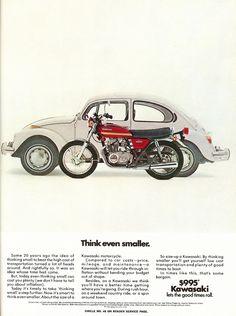 Kawasaki advertisment