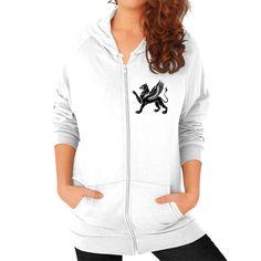 Griffin Women's California Fleece Zip Hoodie