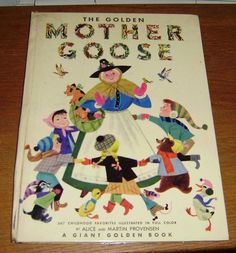 My sister and I had this exact Mother Goose book when we were little. Wonder what happened to our copy...?