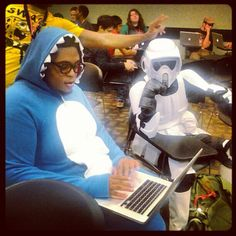 """Congrats @elijahhorton94 the #InstaFan #photooftheweek! """"Just another day in class at #fullsail."""""""