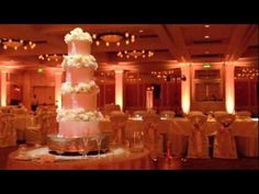 Before & after event lighting design video by Intelligent Lighting Design featuring the Darryl Royal Ballroom at Barton Creek Resort & Spa in Austin, Texas.