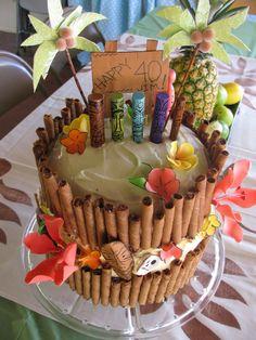 Tiki cake!!