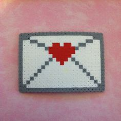 Love letter perler beads by iraincloud