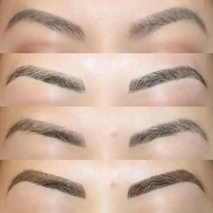 Microblading Before and After : Illustration Description Got my brows tattooed with This is my before/after/healed/touchup pic. Pictures Of Eyebrows, Microblading Healing Process, Eyebrow Feathering, Eyebrow Before And After, Semi Permanent Eyebrows, Eyebrow Embroidery, Cosmetic Clinic, Cosmetic Tattoo, Brows On Fleek