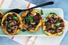 Mushroom Tart, Tartelette, Bon Appetit, Food Styling, Finger Foods, Tapas, Foodies, Stuffed Mushrooms, Brunch