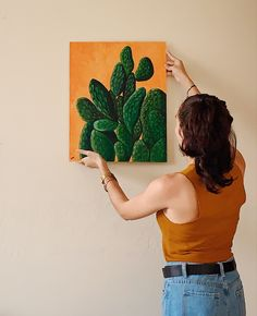 #art #arte #pintura #naturaleza #aesthetic #decor #fashion #cactus #plants #nature #painting #oleo #acrilica #savetheplanet #summer #artista #artwork #nature #top #jeans #outfit #artesana #puertorico #latina #caribbean Puerto Rico, Latina, Cactus, Photo And Video, Jeans, Artwork, Painting, Instagram, Naturaleza