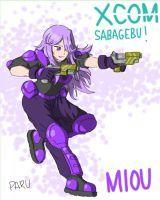 XCOM Sabagebu! Miou by HaloCapella