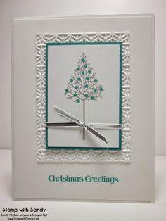 Christmas in Bermuda: Stamp Sets: Warmth & Wonder Card Stock: Whisper White, Bermuda Bay Ink Pads: Bermuda Bay, Smoky Slate Tools: Big Shot,...