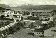 Nordland fylke Narvik Skolene brukt 1956 Utg Mittet