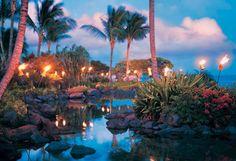 Photos and Video of the Grand Hyatt Kauai Resort & Spa Kauai Beach Resort, Kauai Resorts, Resort Spa, Beach Resorts, Kauai Hawaii, Honolulu Oahu, Luxury Resorts, Waikiki Beach, Vacations To Go