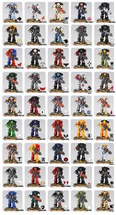 Games Workshop Paints, Grey Knights, Far Future, Warhammer 40k Miniatures, Last One, Main Attraction, The Grim, Space Marine, Symbols