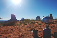 Morning Coffee@Monument Valley