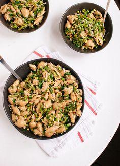 Spring Pea and Asparagus Pasta Recipe