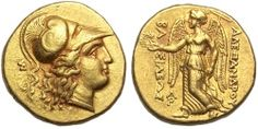 Solid Gold Alexander the Great Stater, which I will never ever be able to afford