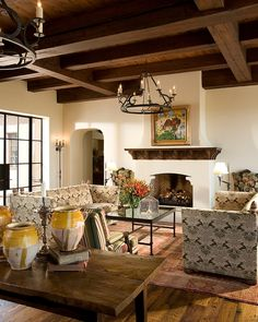Stunning Spanish Style Room | Wiseman and Gale Interior Design