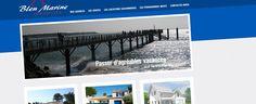 site de l'agence Bleu Marine Immobilier à La tranche sur mer et Avrillé en vendée