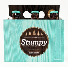 packaging - make my own beer box (cover with patterned paper) for Brady Brew - give a 6-pack as gifts.