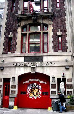 New York, Chelsea Fire House
