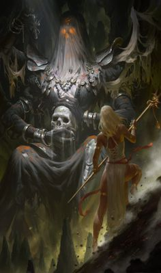 ArtStation - Black saintess, KILART _