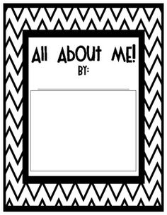 It's All About ME! {A Mini Autobiography Writing Unit