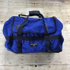Polo Sport Ralph Lauren Blue/Black Sportswear Duffel Streetwear Duffle Bag