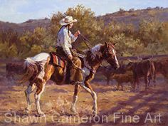 La Patrona by Shawn Cameron in the FASO Daily Art Show