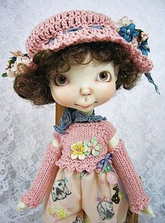 Spring Outfit for Sprockets, Connie Lowe Sprocket, Pink Kittens, made by Ulla