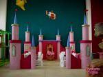Scenografia Castello Principesse, parco giochi