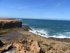 Approaching Quobba Blow Holes