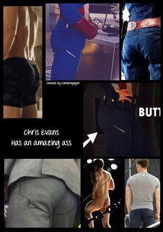 Chris Evans ass created by Kimberlydyan