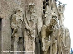 Stone Carvings Photo: La Sagrada Familia