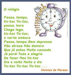 Vinícius de Moraes - O relógio