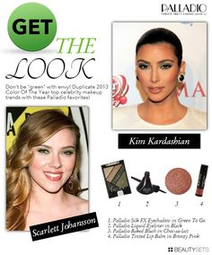 """Palladio """"Get The Look""""   2013 Pantone Color 1 - http://www.beautysets.com/sets/24876 - Looks"""