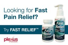 Looking for fast pain relief?