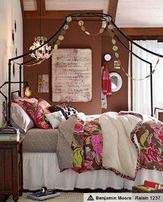 Teenage girls dream bedroom