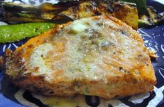 There's always thyme to cook...: Grilling: Salmon with Garlic and Lime Butter Sauce