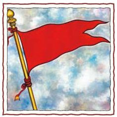 """Dhvaja, 'flag,' is the saffron / orange or red banner flown above temples, at festivals and in processions. It is a symbol of victory, signal to all that """"Sanatana Dharma shall prevail."""" The saffron color betokens the sun's life-giving glow. Hindu Symbols, Reiki Symbols, Sacred Symbols, Ancient Symbols, Sacred Art, Holy Lance, Hinduism History, Ornament Drawing, Pagan Gods"""