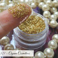 <a href='http://www.carolmello.com/'>carolmello.com</a> Swatches de todos os glitters da Cigana Cosméticos Carol Mello
