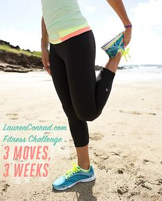 Slim Down Challenge: Three Moves, Three Weeks {can you do it?}
